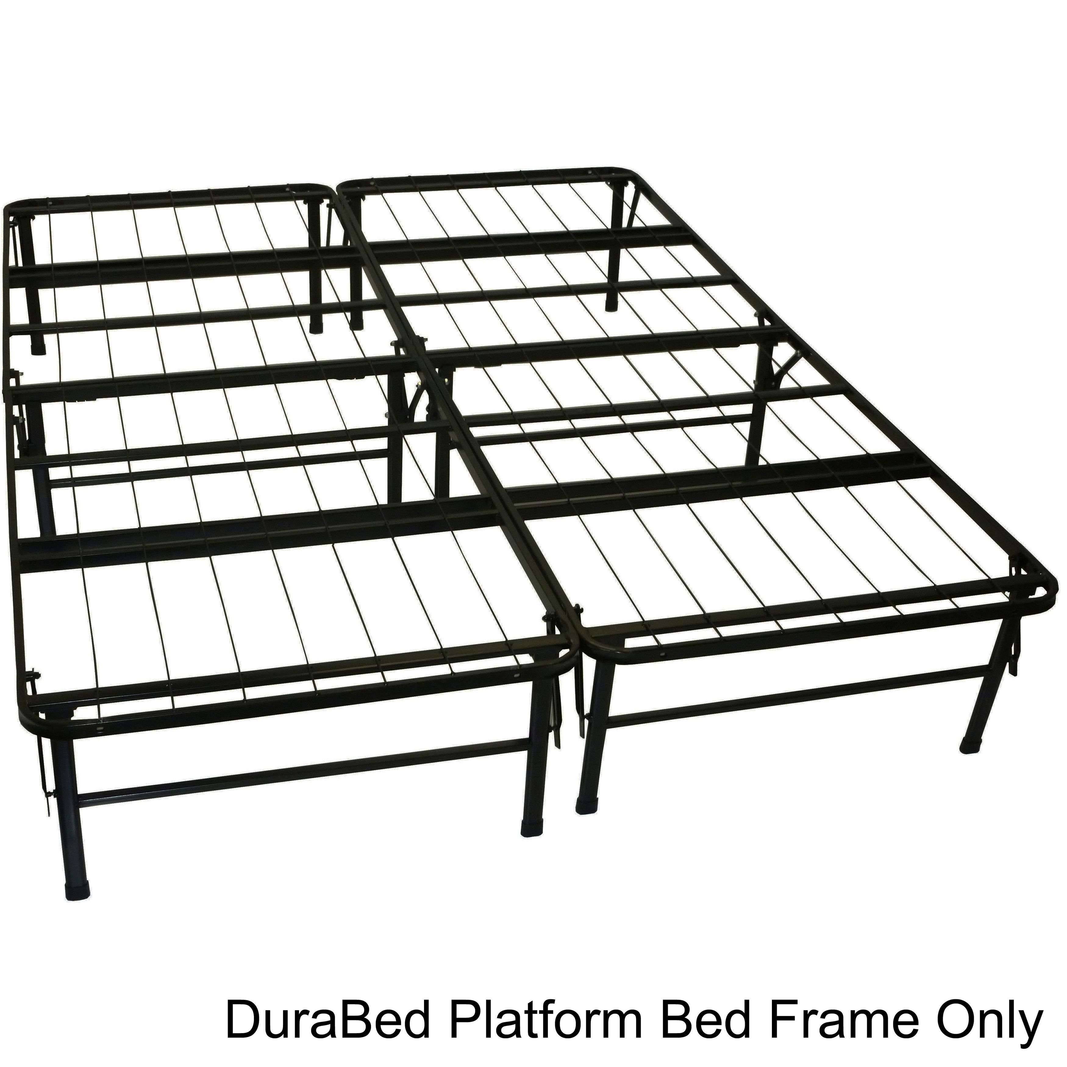 Durabed Queen Foundation And Frame In One Mattress Support Bed Frame Foldable Bed Metal Bed Frame Mattress Support