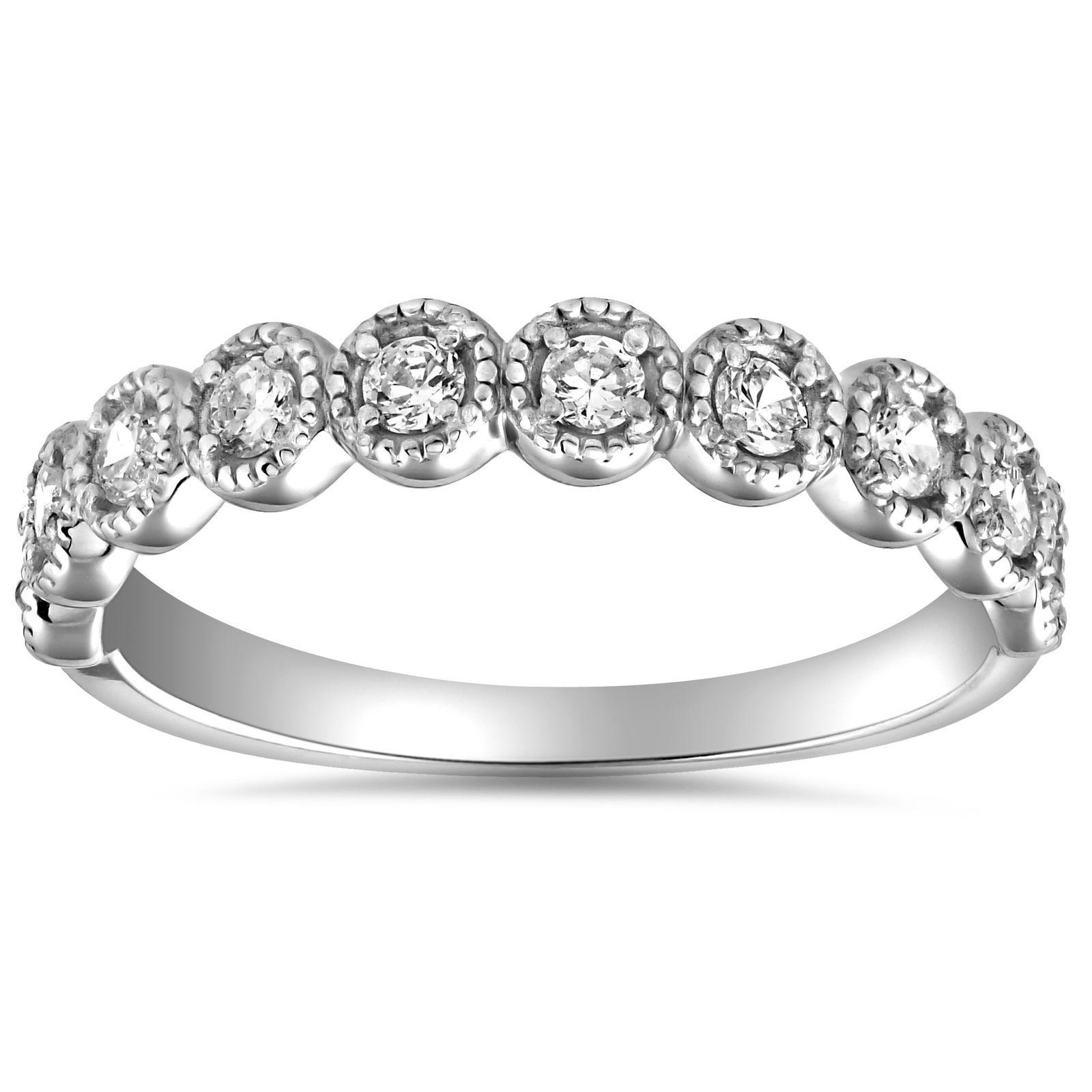 stackable bridal set rings