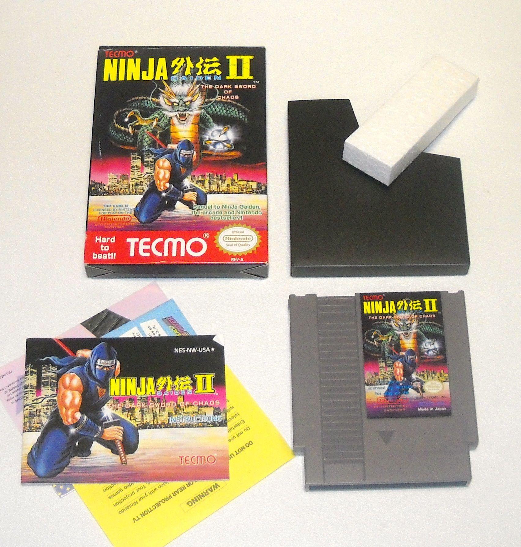 Ninja Gaiden II - Complete for The Nintendo NES - The Old School Game Vault
