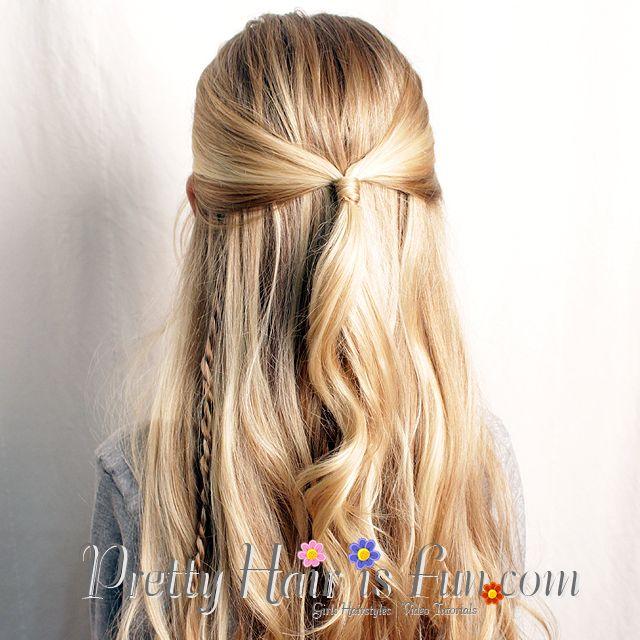 Pretty Hair Is Fun Princess Twist Braid Hairstyle Wedding