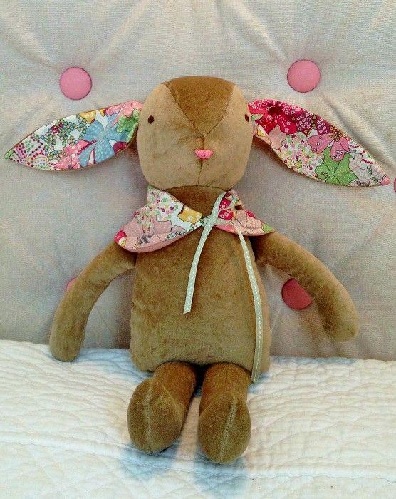 Velvet & Liberty Bunny - by chipandbunny on madeit