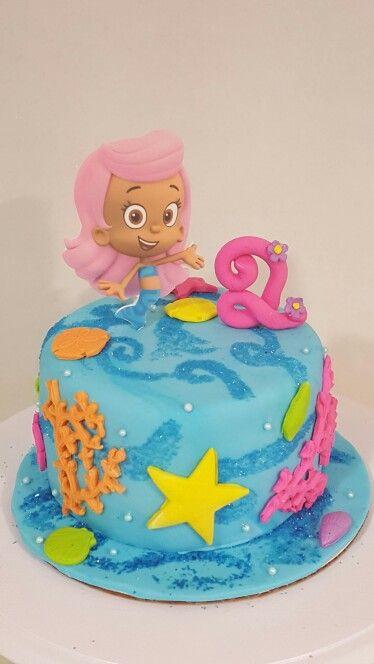 Incredible Bubble Guppies Cake Bubbleguppies Cake Birthdaycake Funny Birthday Cards Online Hetedamsfinfo