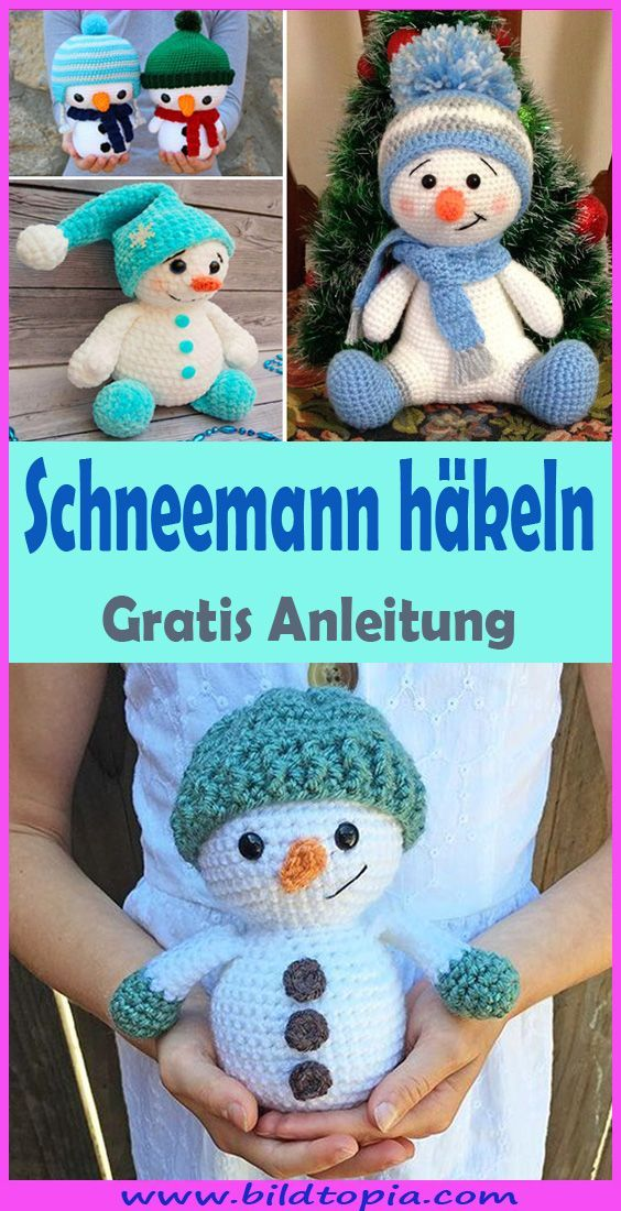 Photo of Crochet Amigurumi Snowman – Free & Easy Instructions