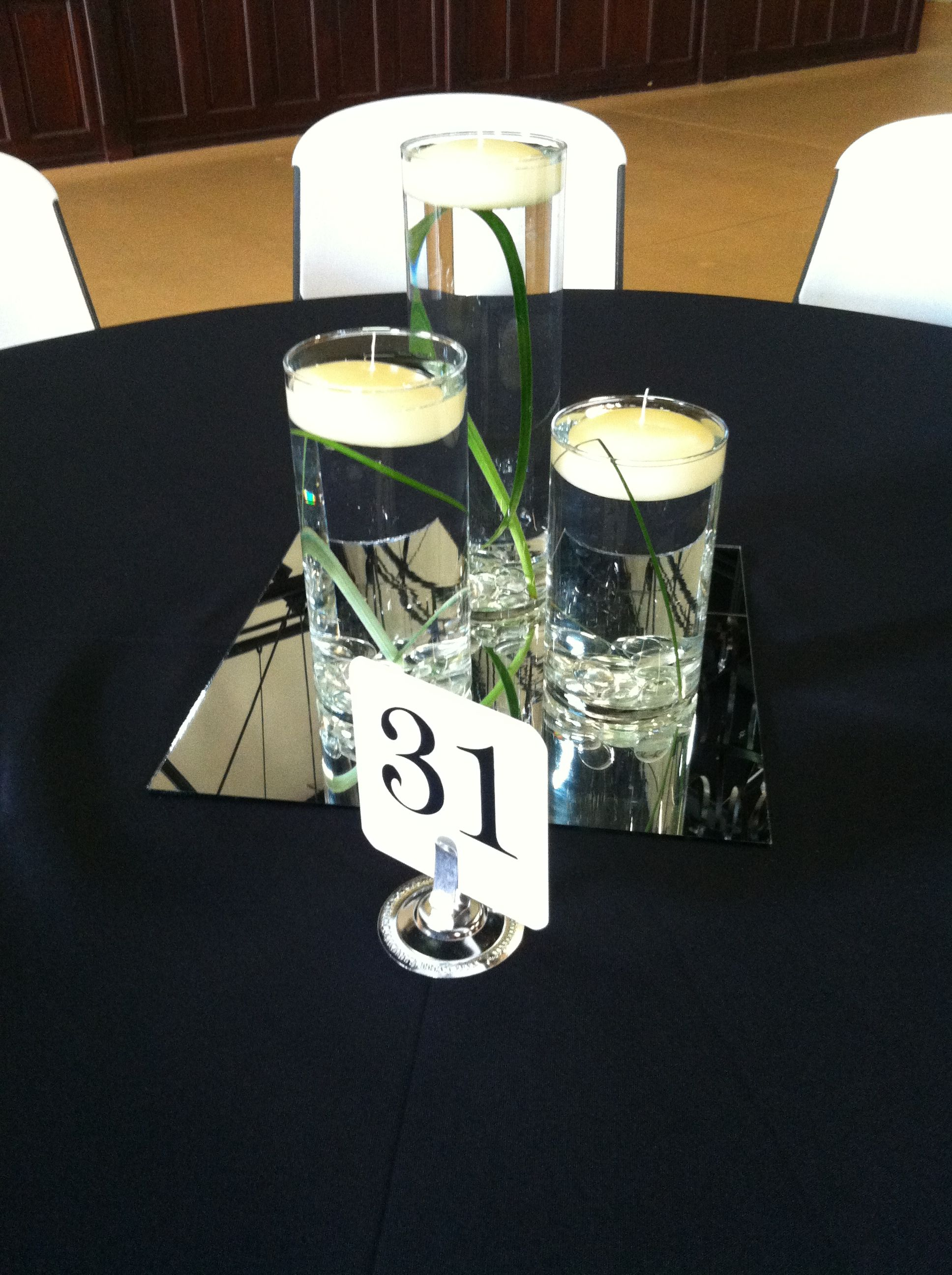 Centerpiece done by paula coleman with elite events