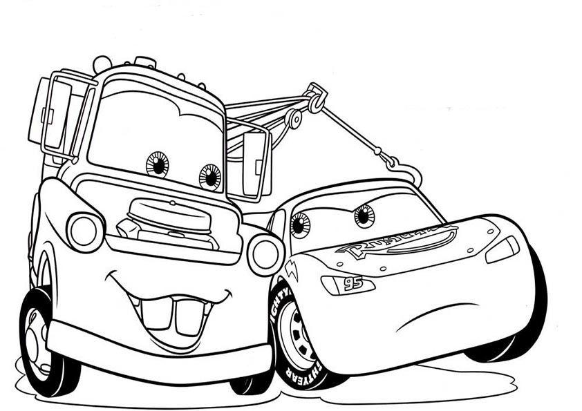Ausmalbilder cars disney Malvorlage auto Cars