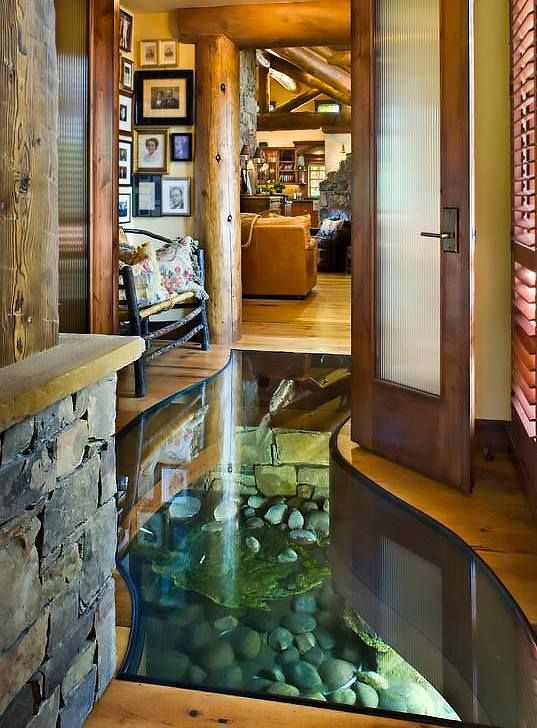 Want to build a house but your property has a creek - Make your house a home ...