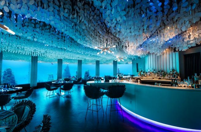 Subsix underwater nightclub, Maldives