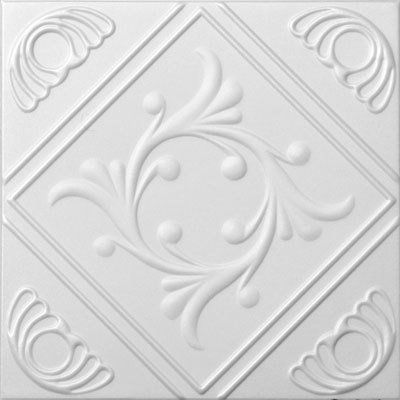 Amazon.com: Anet White Styrofoam Ceiling Tiles For Glue Up Application:  Home U0026 Kitchen