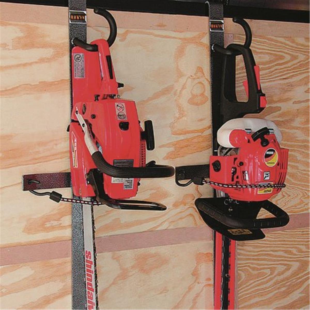 Rack Em Hedge Trimmer Trailer Rack Lawn Equipment Storage