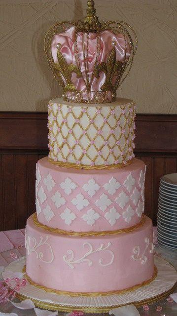 Princess Baby Shower Cake Party Cupcakes Birthday  Dogumgunu Pastas  Butik  Pasta, Eker