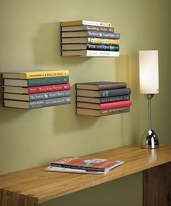 I Have Lots Of These Floating Shelves Great Way To Store Books Without More Bookshelf Space Lean Photos Art On Top Or A Plant