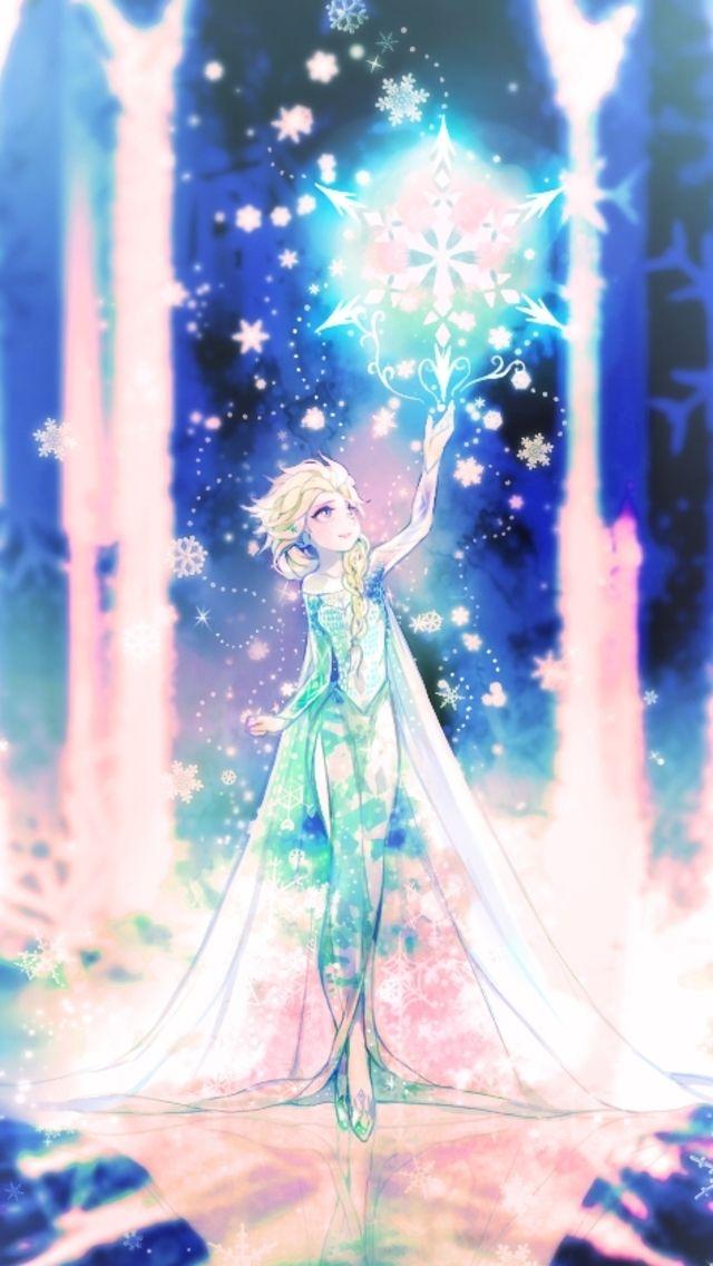 Frozen Elsa Fanart IPhone Wallpaper Tap Image For More Disney