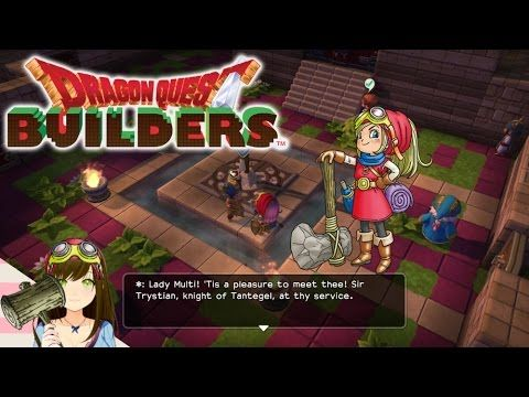 Dragon Quest Builders Sir Trystian Knight Joins The Village Ep86 Dragon Quest Knight Village