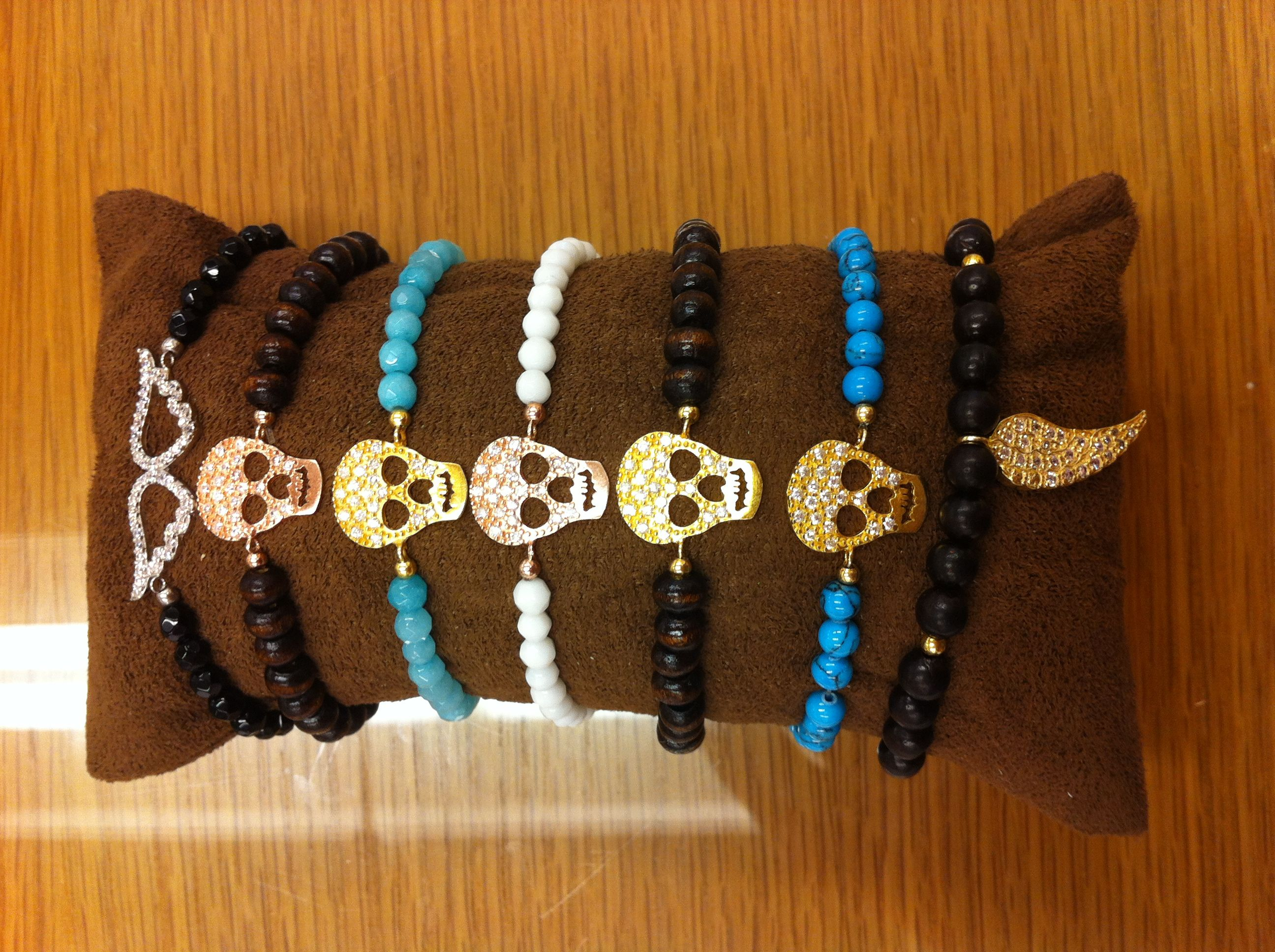 ASSORTED STRETCHY BRACELETS $58- EACH CALL SPLASH TO ORDER 314-721-6442