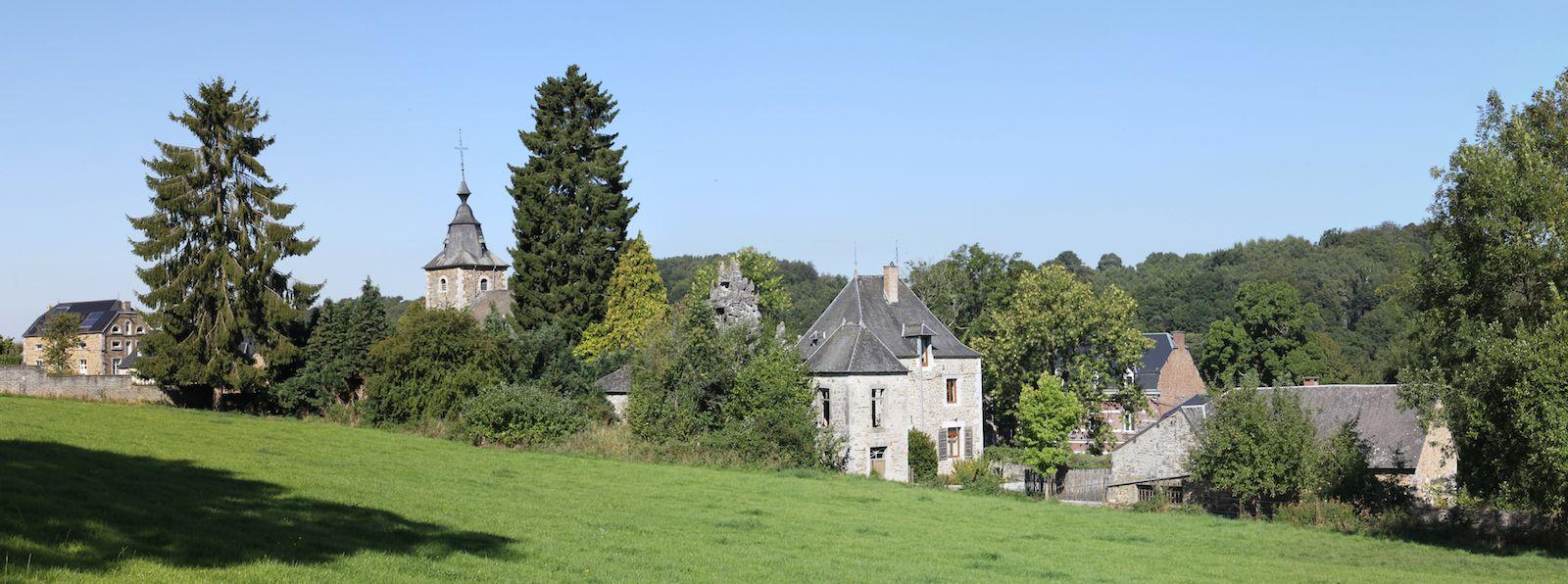 Le village de Crupet - © Mark Rossignol - Les Plus Beaux Villages de Wallonie http://www.beauxvillages.be/default.asp?iId=GFFDEE