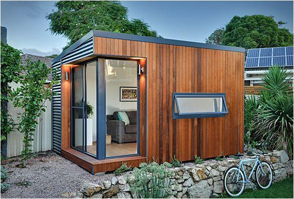 tiny backyard home office. Backyard Offices | By Inoutside Tiny Home Office E