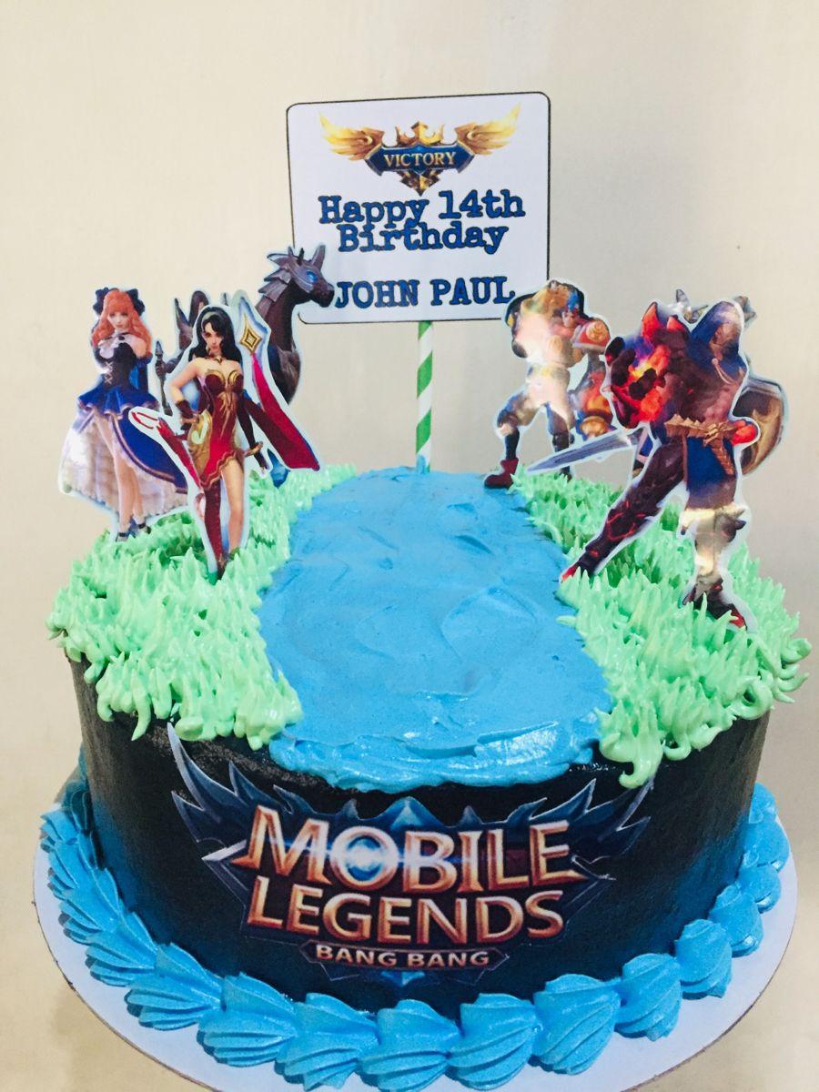 mobile legend cake design round Mobile Legend  Cake decorating tips, Cake, Cake decorating