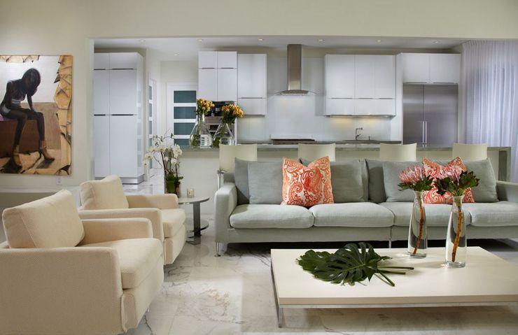 Villa de luxe au design éclectique sur la côte en Floride Interiors