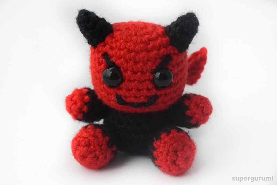 Teufel mit Anzug häkeln | DIY and crafts | Pinterest | Crochet ...