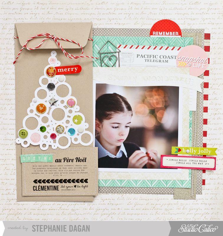 Lettre Au Père Noël Letter To Santa By Cleosmum At At Studiocalico