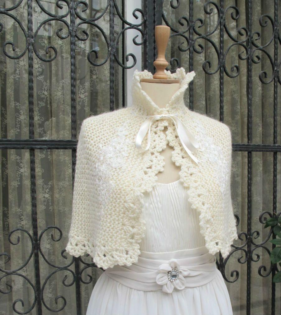 crochet wedding bolero pattern - Căutare Google | Capa, etole ...