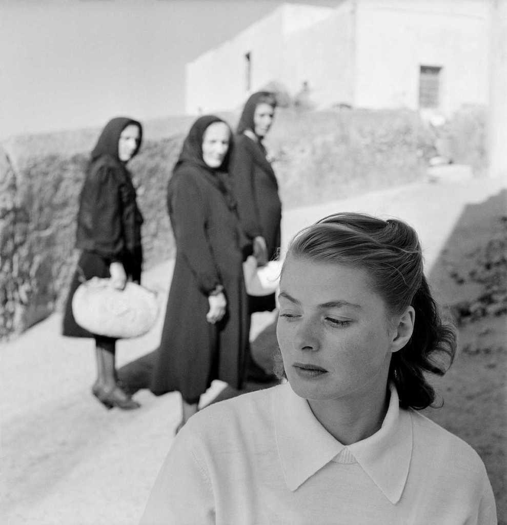 Ingrid Bergman sur l'île de Stromboli, Italie, 1949 © The Gordon Parks Foundation. Courtesy The Gordon Parks Foundation