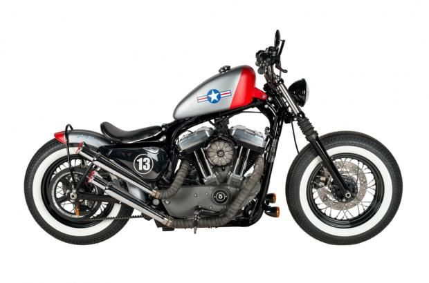 Airforce Sportster | Custom Bikes from the Award Winning Shaw Speed & Custom