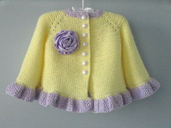 Photo of Baby Jacket Crochet Baby Cardigan Knitted Baby Girl Sweater Crochet Baby Coat Knitted Baby Girl Outfit Newborn Clothes  Baby Girl Gift