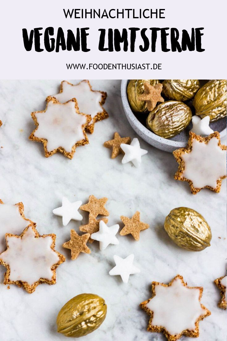 Photo of Vegan cinnamon stars