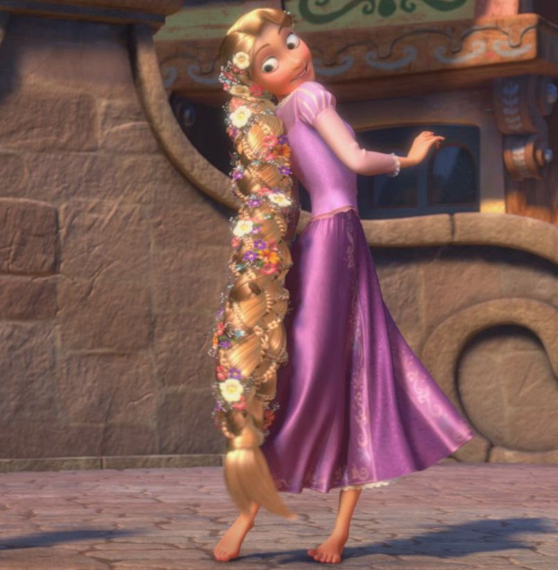 Rapunzel with braided hair - Tangled | Cosplays ...