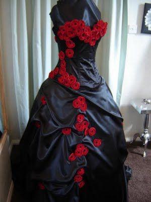 Forbidden Love Gothic Wedding Dress Halloween Wedding Dresses