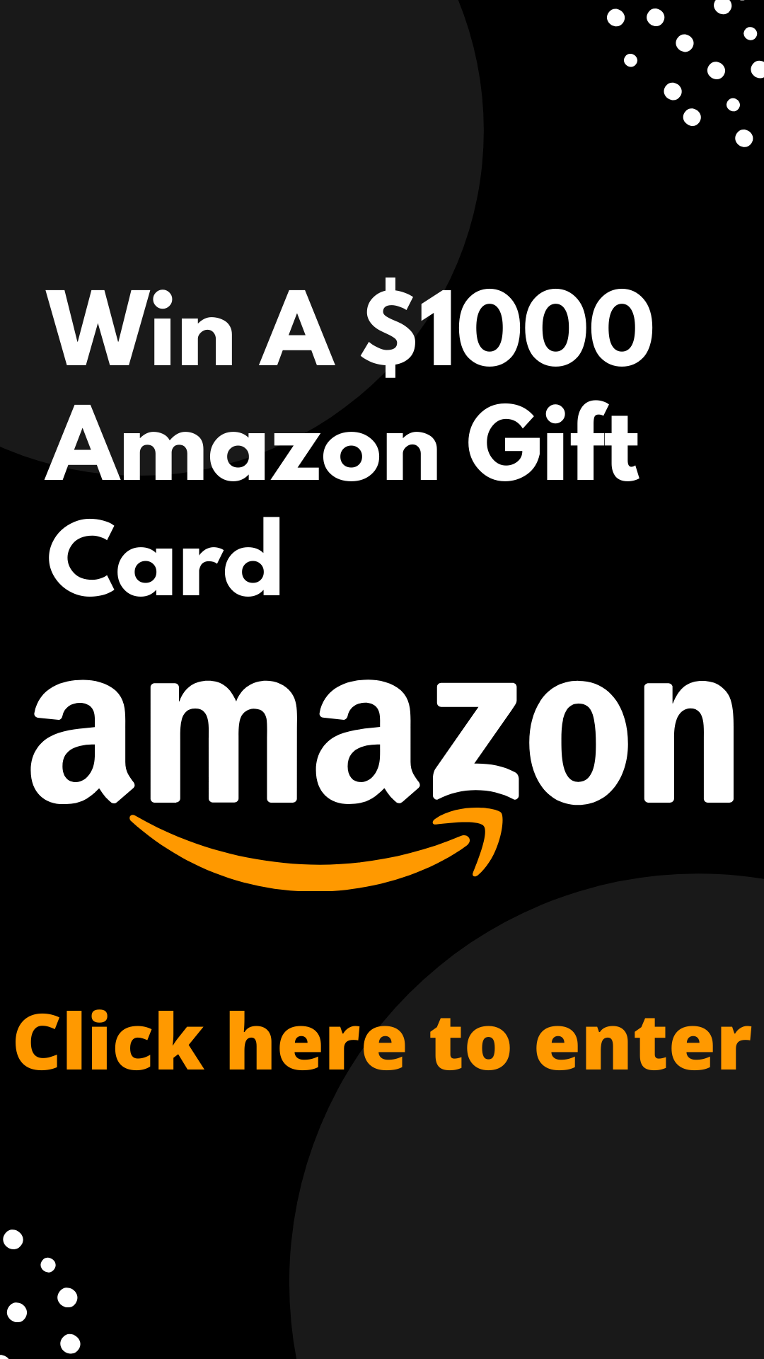 Win A 1000 Amazon Gift Card Gift Card Amazon Gift Cards Affiliate Marketing Course