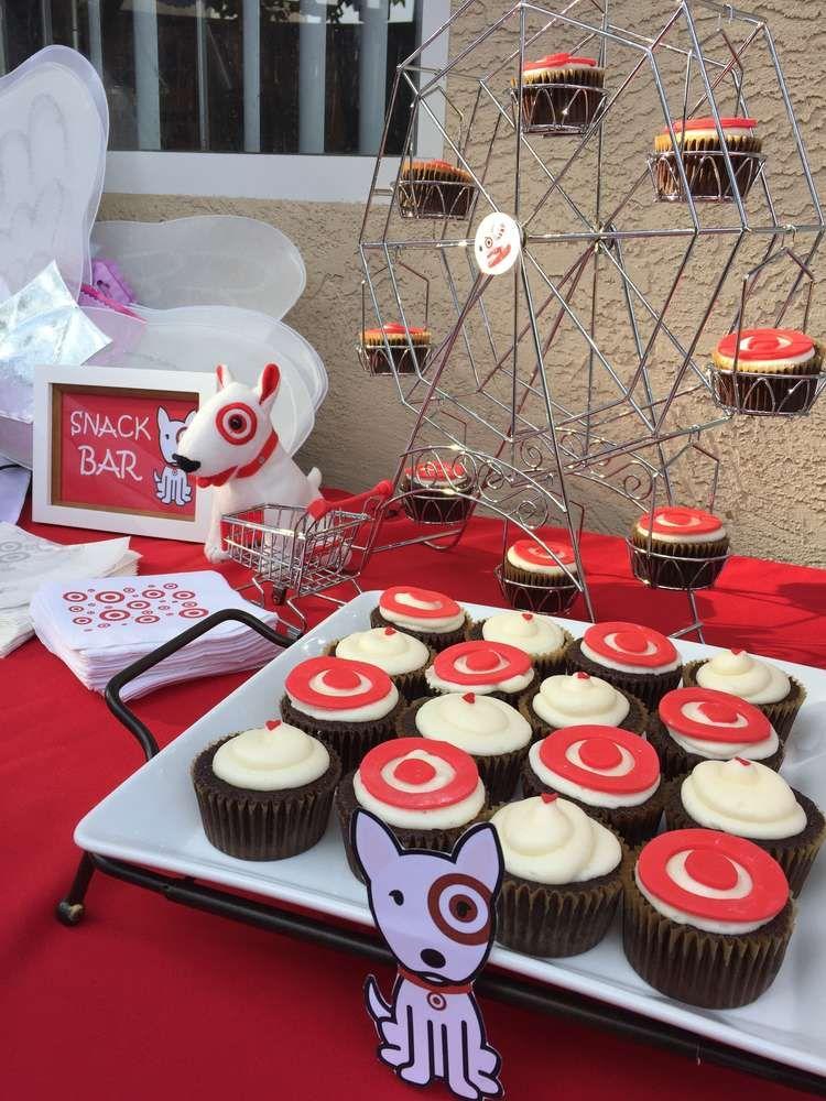 Marvelous Target Birthday Party Ideas With Images Target Birthday Cakes Personalised Birthday Cards Veneteletsinfo