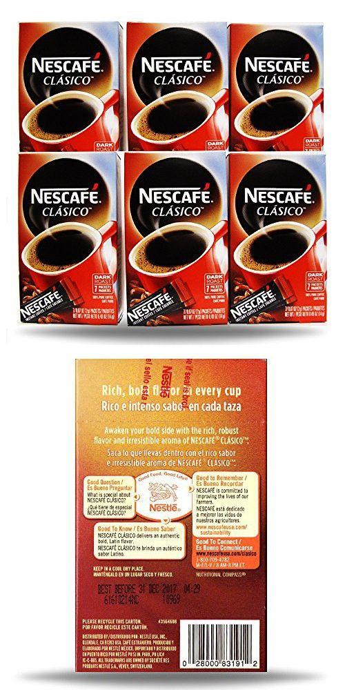 Nescafe Instant Coffee, 42 Packets (Clasico) Nescafe