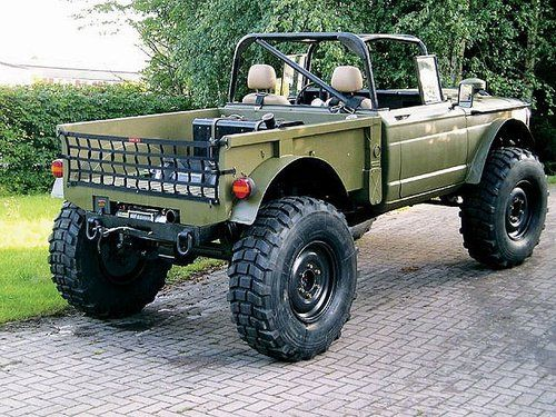 Green Jeep 4x4 With Big Tires Trucks Jeep Offroad Vehicles