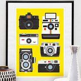 JAN SKÁCELÍK Retro Polaroid A3 Print £24.95