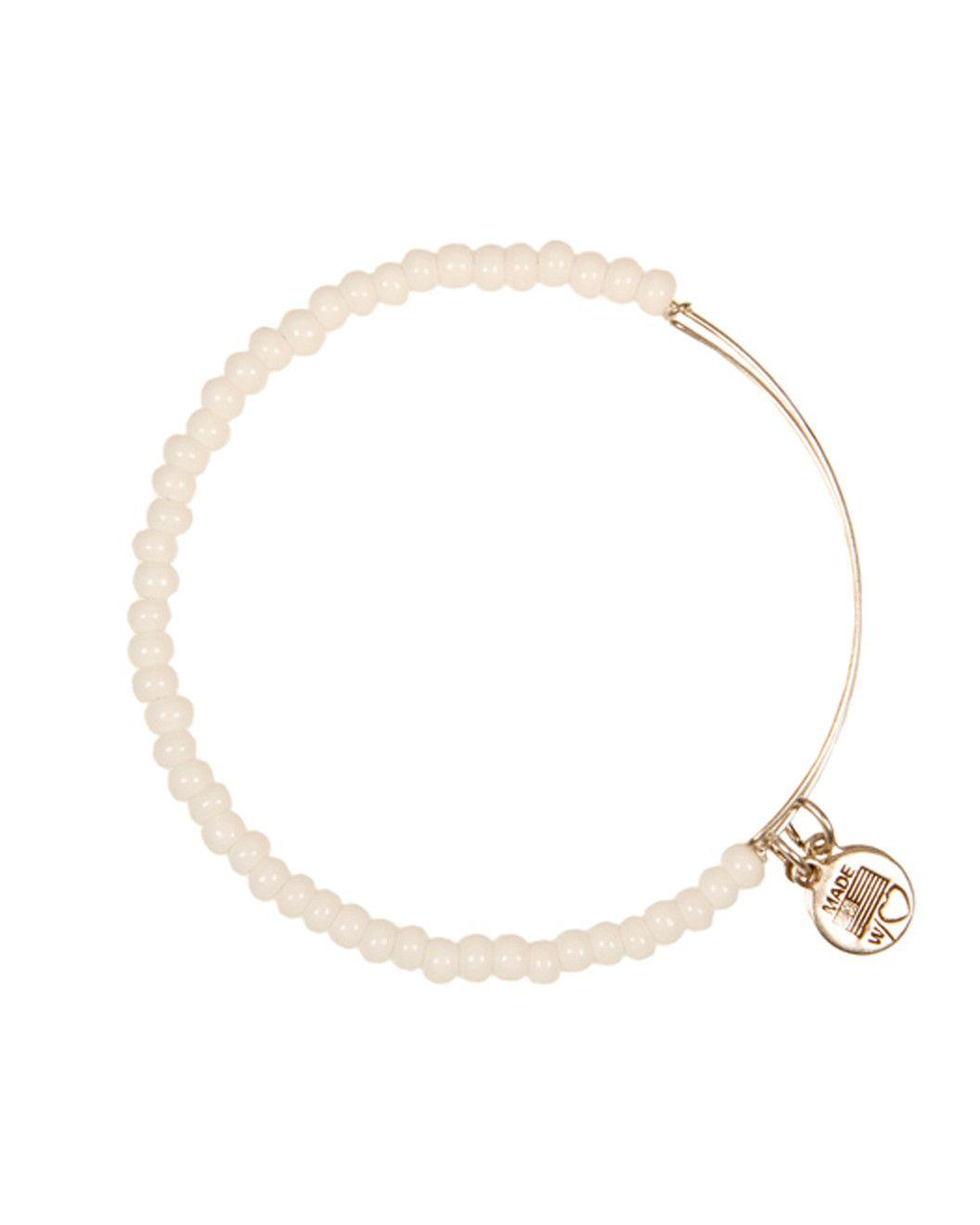 Spotted this Alex and Ani Color Palette White Glass Bead Expandable Bracelet on Rue La La. Shop (quickly!).