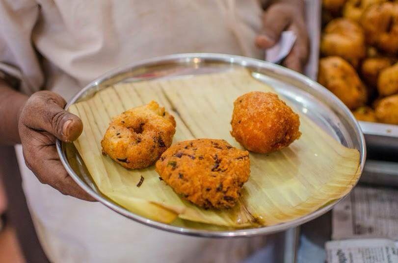 Deep fried Vadas from Kerala.