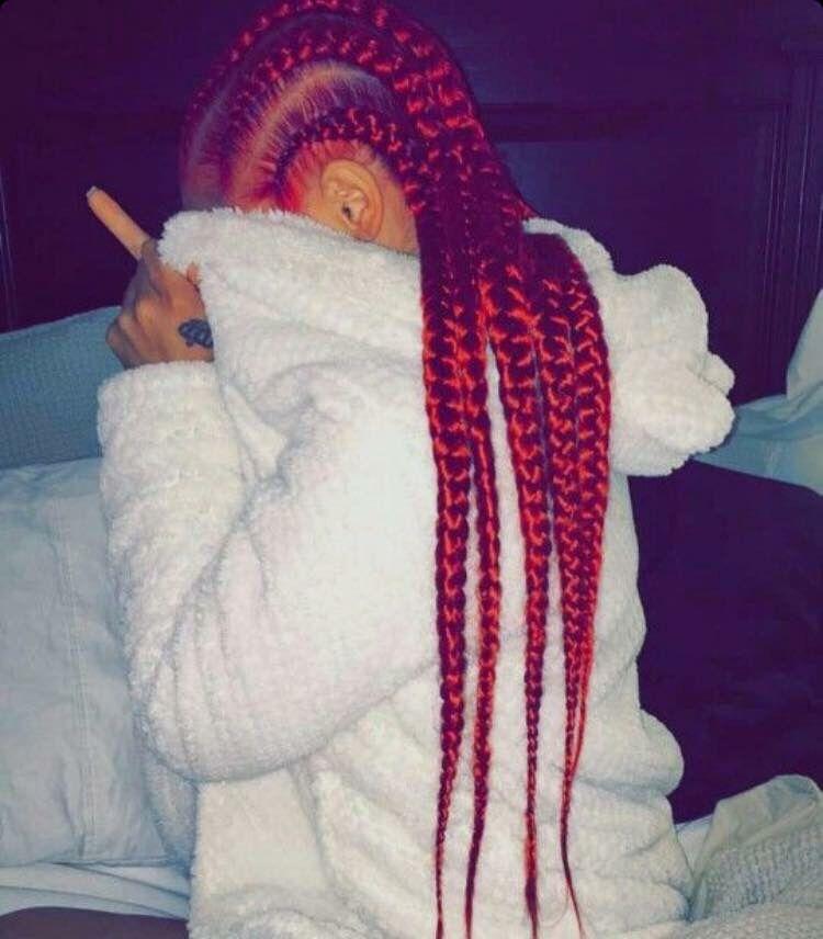 Red goddess braids | Hair | Pinterest | Goddess braids