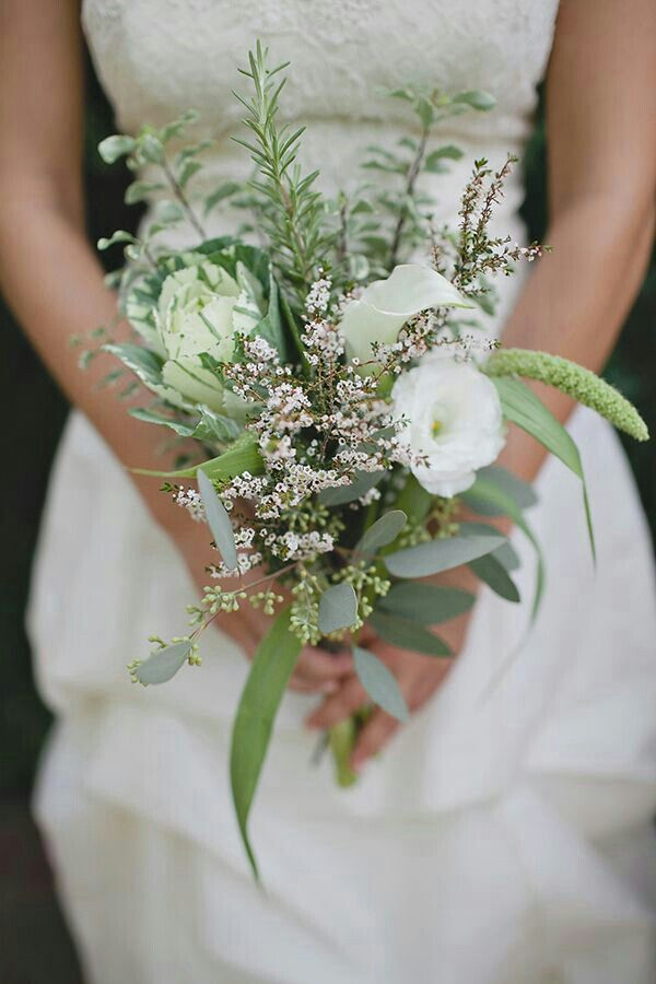 simple bouquets for weddings quot organic quot wedding bouquet with white lisianthus calla 7473