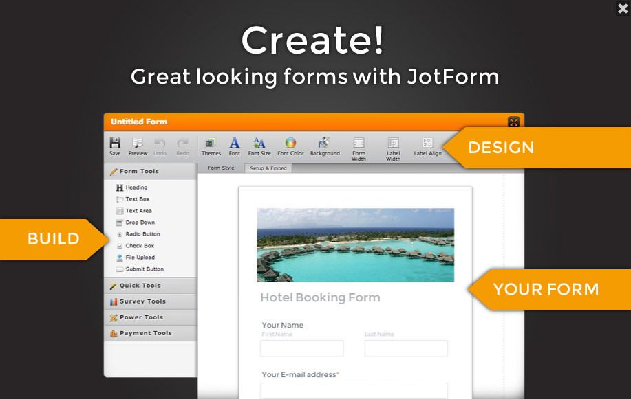 Free Online Form Builder Form Creator Jotform Form Builder Online Form Builder Online Form