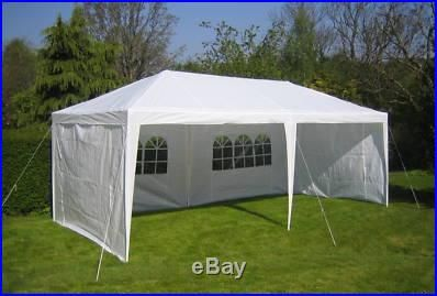 tent awnings for decks | WHITE 10 X 20 PE OUTDOOR CANOPY GAZEBO PARTY TENT & tent awnings for decks | WHITE 10 X 20 PE OUTDOOR CANOPY GAZEBO ...