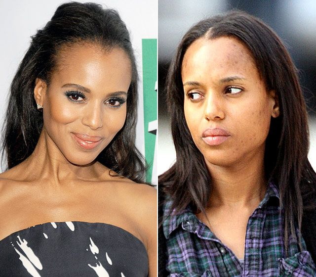 Unrecognizable Photos Of Celebrities With And Without ...