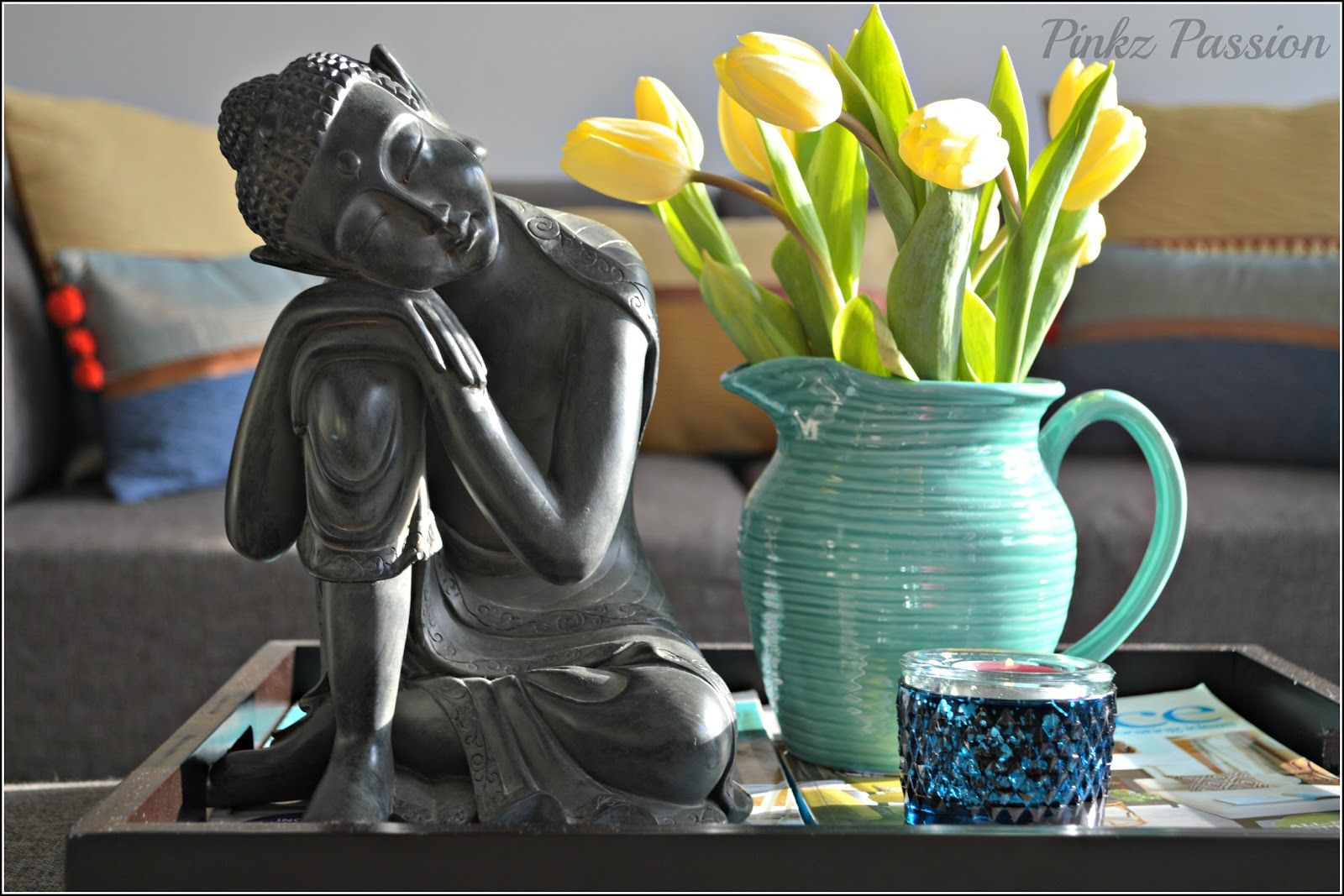 Pinkz Passion : Desi Twists on Coffee Table #buddhadecor