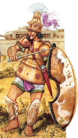 Pin Em Guerra De Troia