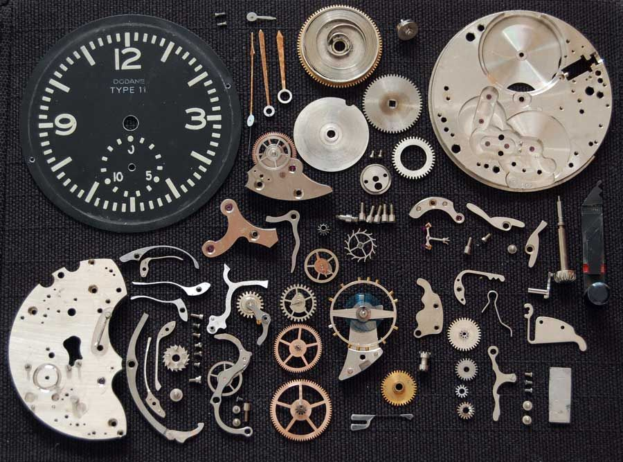 how to build a mechanical clock
