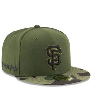 ddf6baeaa24f0 New Era Boys  San Francisco Giants Memorial Day 59FIFTY Cap - Green 6 1 2