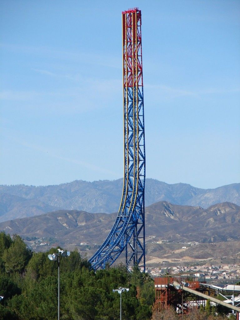 Superman Escape From Krypton Six Flags Ca Check Theme Parks Rides Thrill Ride Six Flags