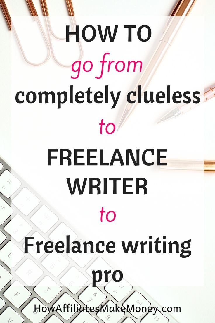 Freelance Writing for beginners How Affiliates Make