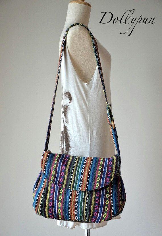 Nepali Hippie Style Handbag Crossbody Boho Bag By Dollypun On Etsy 14 98